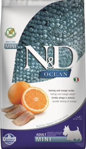 N&D Ocean Dog Herring and Orange Adult Mini